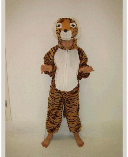 deguisement 1M04 tigre peluche
