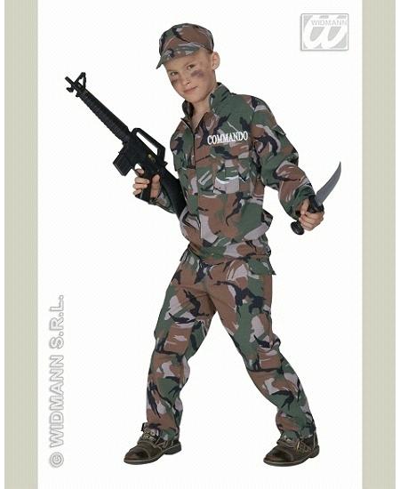 déguisement 8 10ANS soldat