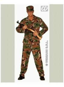 déguisement T42 44 militaire homme