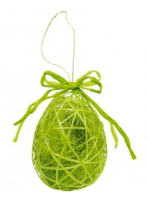 oeuf de pâques vert anis