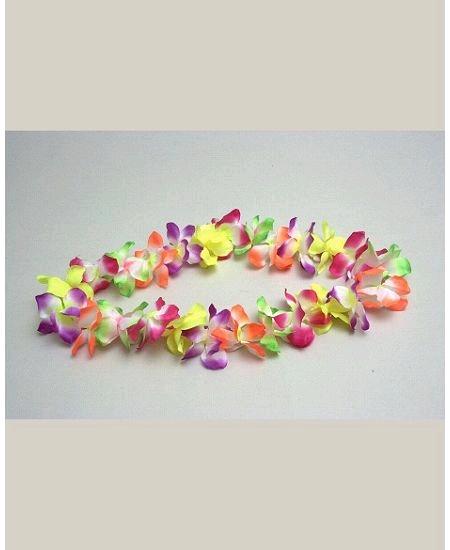 collier hawaïen couleur assortis