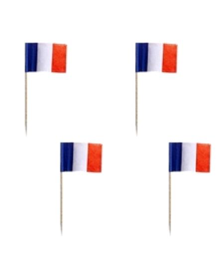 piques drapeaux x50 France
