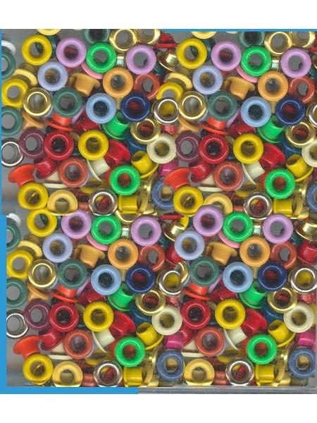 oeilletsx50/D5mm multicolore