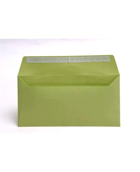 enveloppex20/11x22cm vert bourgeon