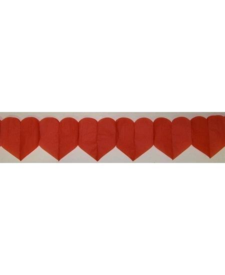 guirlande coeur 6M rouge