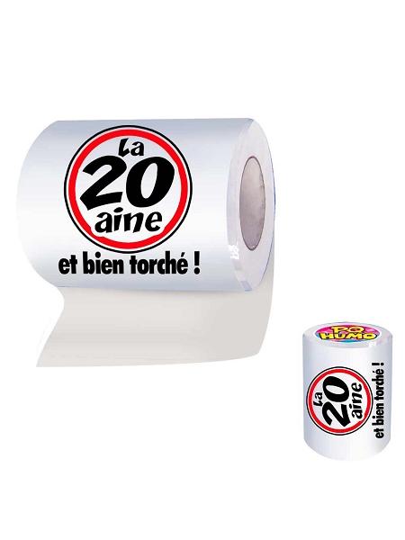 rouleau papier wc la 20aine