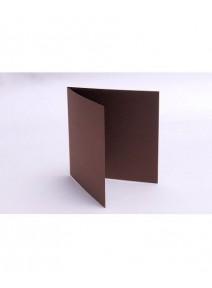 carte pliée cacaox25/135x135mm 210grs p