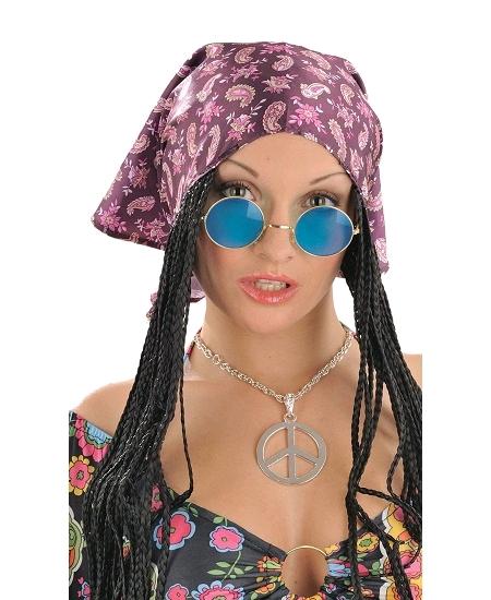 lunette hippie bleue