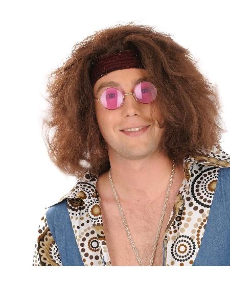 lunette hippie rose