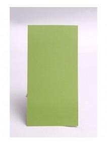 carte simple vert bourgeonx25/106x213mm