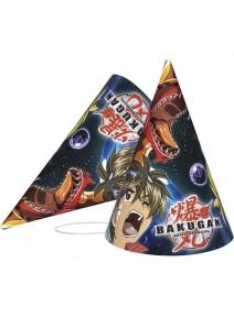 chapeaux x6 Bakugan
