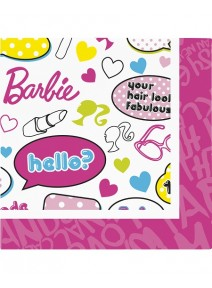 serviettesx20 Barbie 2plis