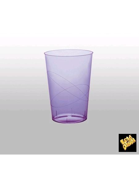 verresx10/20cl parme en cristal