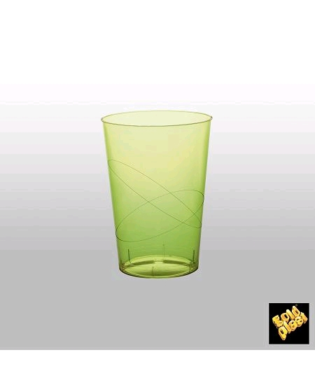 verresx10/20cl vert anis en cristal