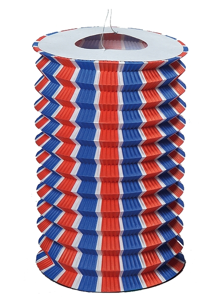 lampionsx12/16cm tricolore