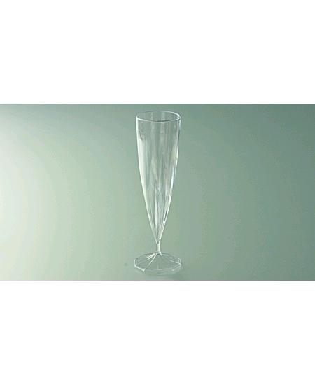 flûtesx10/13.5cl monobloc cristal
