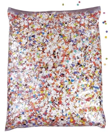 confettis multicolore 100grs