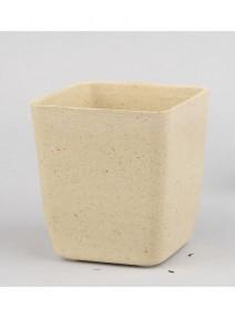 potsx3 carré bambou sable