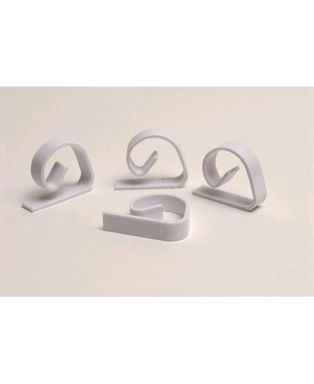 pinces nappex4 plastique blanche
