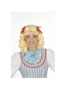 perruque candy blonde avec frange et deu