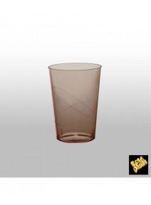verresx10/20cl chocolat en cristal
