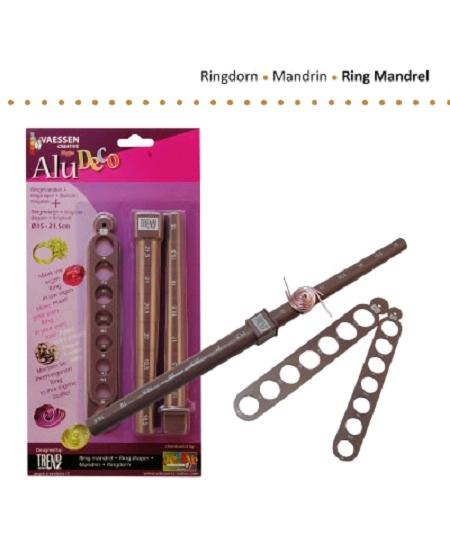 mandrinsx2 + 2 supports anneaux