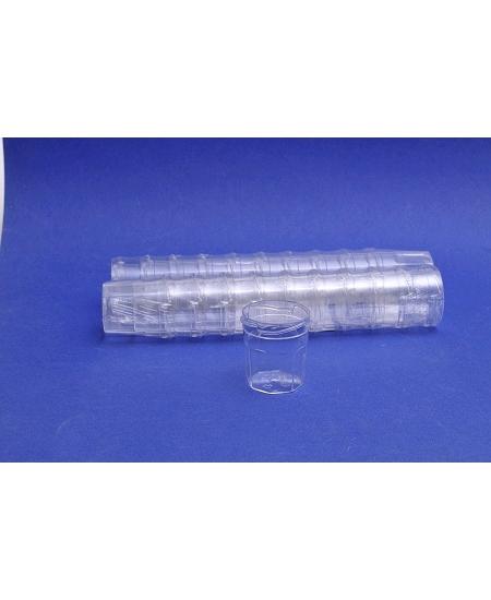 bocaux x20 cristal COUVERCLE NON COMPRIS