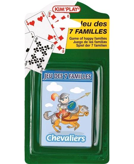 jeu de 7 famillesx4 paquets assortis