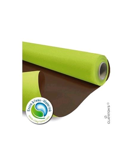 kraft 40Mx79cm/60gm² vert pomme/chocola