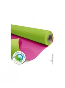 kraft 40Mx79cm/60gm² vert pomme/fuchsia
