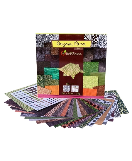 papier origamix60 zoo