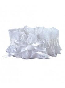 jarretière blanche largeur 5.5cm