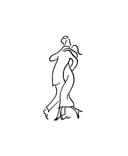 """tampon """"d"""" couple dansant"""
