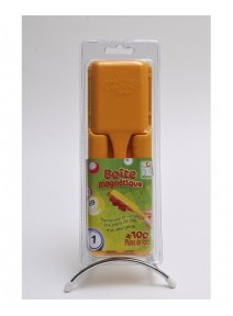 kit pour loto jaune : boîte+pions+bâton