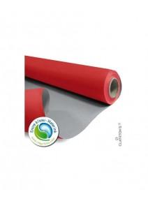 kraft 40Mx79cm/60gm² gris/rouge