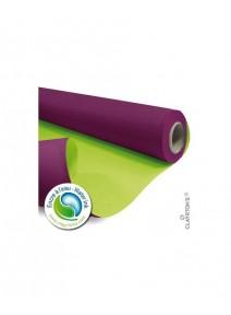 kraft 40Mx79cm/60gm² aubergine/vert anis