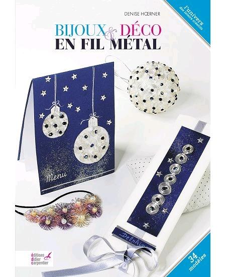 livre bijoux & déco en fil métal