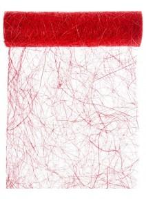 abaca 30cmx5m rouge