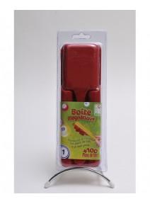 kit pour loto rouge : boîte+pions+bâton