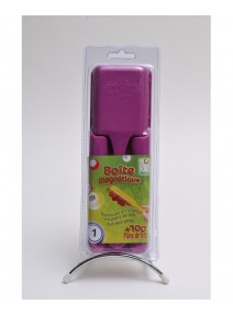 kit pour loto fuchsia:boîte+pions+bâton