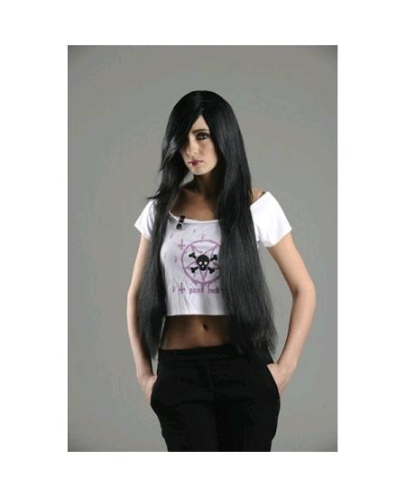 perruque manga noire