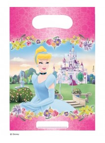 sachets cadeaux x6 Princesse