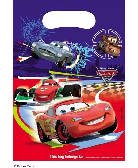 sachets cadeaux x6 Cars