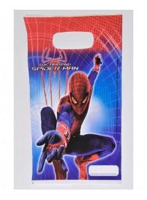 sachets cadeaux x6 spiderman