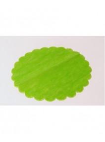 tulles vert anisx10/D24cm intissé