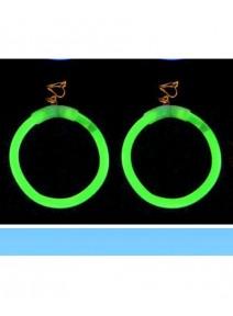boucles d`oreilles vertesx2  lumineuses