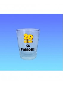 verre shooter 20aine