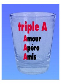 verre shooter triple A