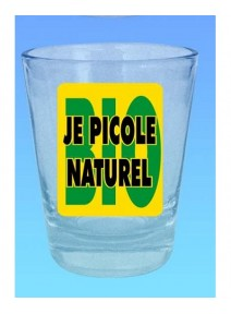 verre shooter je picole naturel