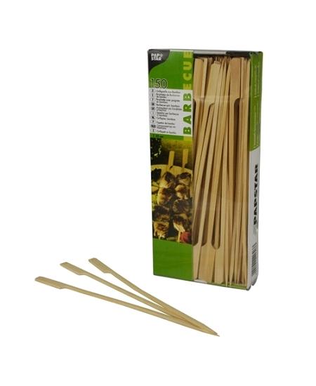 brochettesx150/25cm en bambou